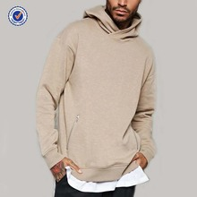 Hoge kwaliteit custom <span class=keywords><strong>pullover</strong></span> pouch pocket plain geen label oversized mens hoodie