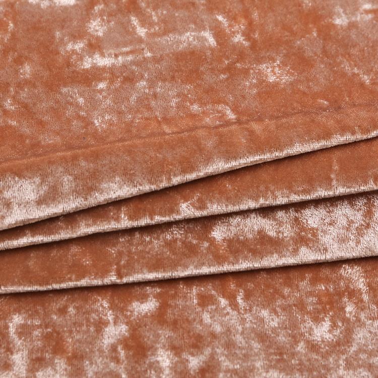 Cheap custom dress textiles spandex ice velvet fabrics dress tecido veludo velour fabric