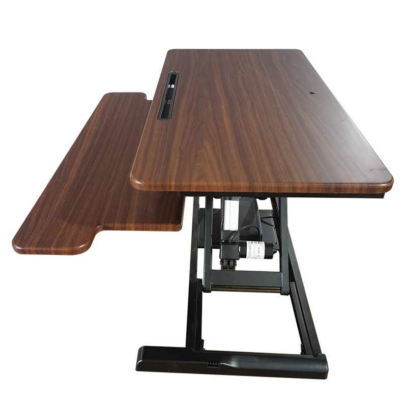 Office Furniture Electric Tabletop Ergonomic Sit Stand Workstation ,Adjustable Standing Desk Converter