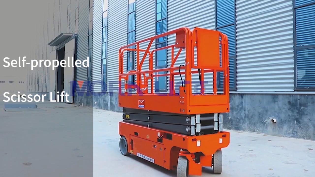 5-14M Zelfrijdende Elektrische Schaar Man Lift Antenne Werken Platform