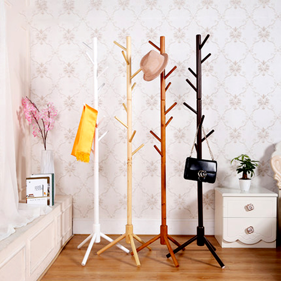 vertical hat rack
