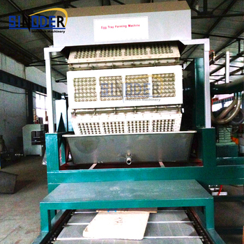 Chicken egg tray machine Old magazines paper pulp tray manufacturers egg tray making machine suppliers
