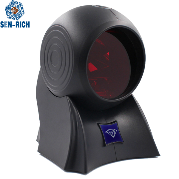 Handsfree 2D Imager Aggressive performance QR PDF417 USB RS232 Barcode scanner for supermarket
