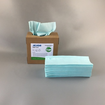 Manufacturer Supply Disposable Excellent Absorption 4 fold 30 x 35cm Clean Room Dry Wipes