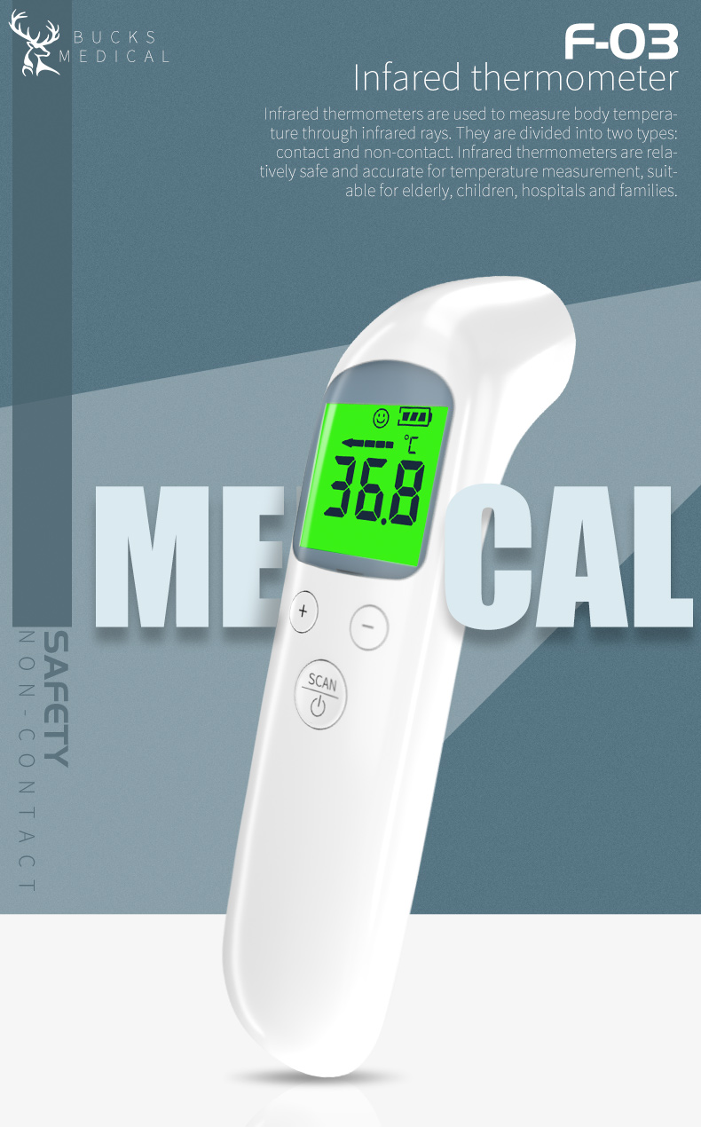 Best Price Home baby body fever forehead thermometer / infrared digital clinical smart thermometer