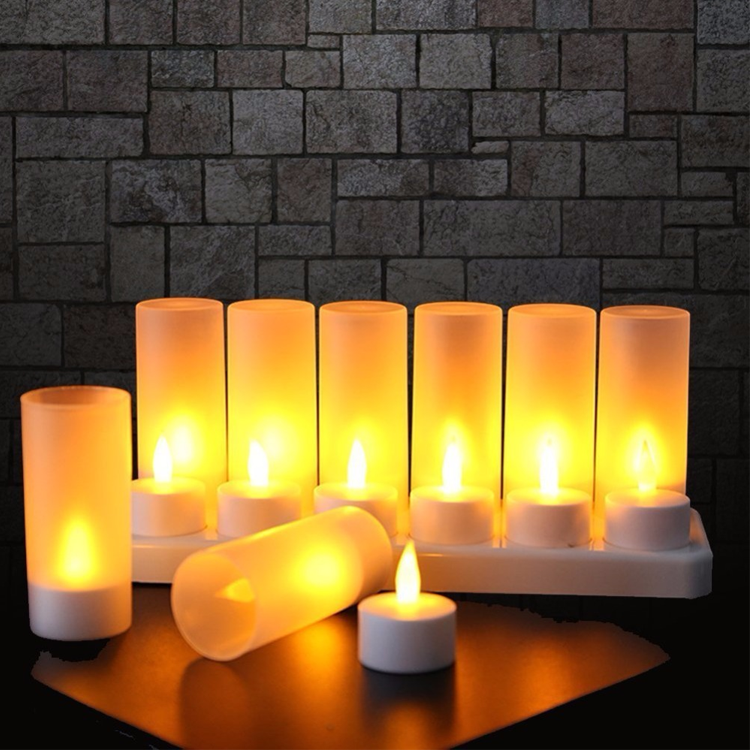 Hot sale cheap luminaria tealight wholesale flameless candle