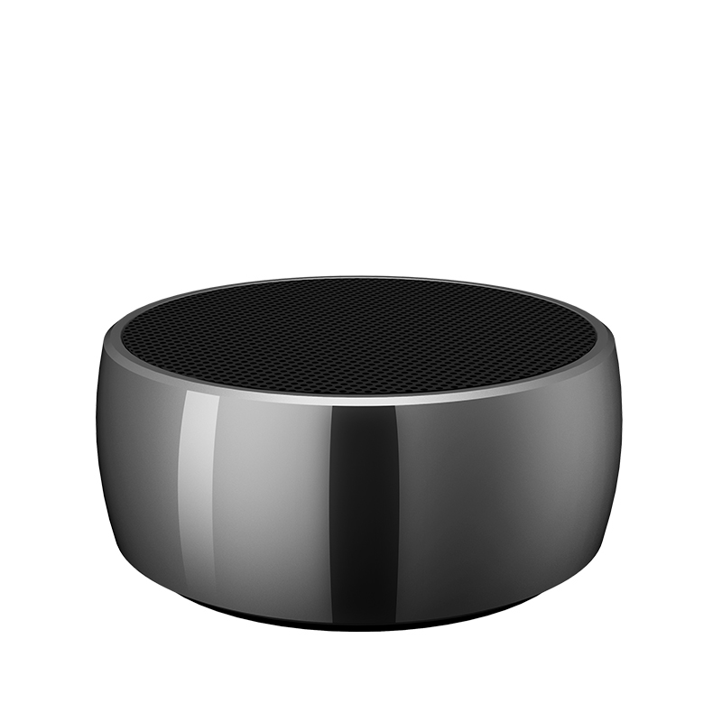 High fidelity wireless mini bluetooth speaker metal material subwoofer