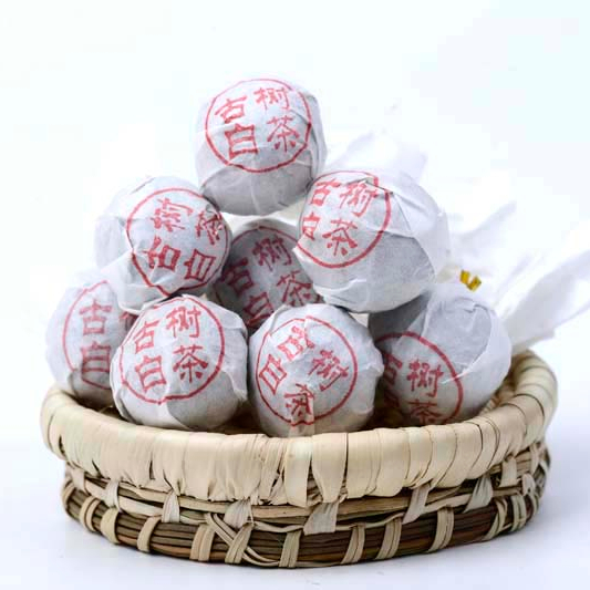 Yunnan Traditional Ancient Tree White Tea Dragon Ball Health Loose Tea - 4uTea   4uTea.com