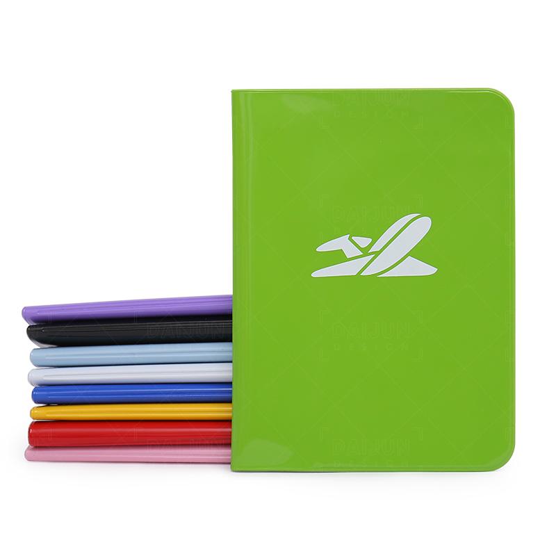 カスタムロゴ 8 色 PVC パスポートカバーパスポートホルダー旅行パスポートオーガナイザー財布