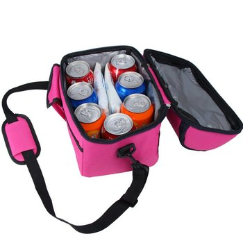 Customized Tote Insulated Cooler Lunch Bag for Picnic