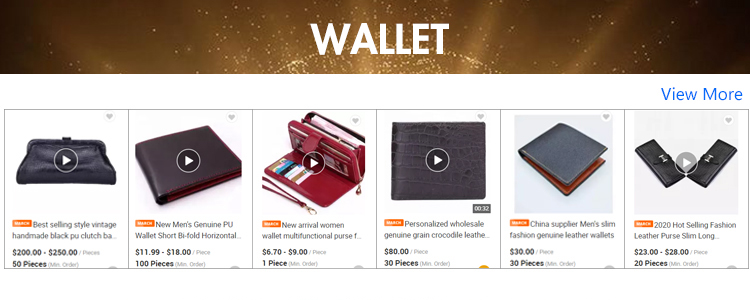 product-2020 new arrival Embossed Genuine Leather women long Wallets zipper luxury design Pure color