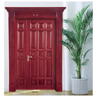 Design Wood Door Doors Solid Wood Door DIAOSI Luxury Design Natural Solid Wood Front Door High Quality Wooden Main Doors For Home Main Entrance From China Manufacturer