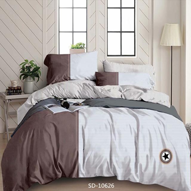 2 के साथ 100% नरम Microfiber चादरें प्रिंट बिस्तर सेट तकिया कवर हस्तनिर्मित चादरें