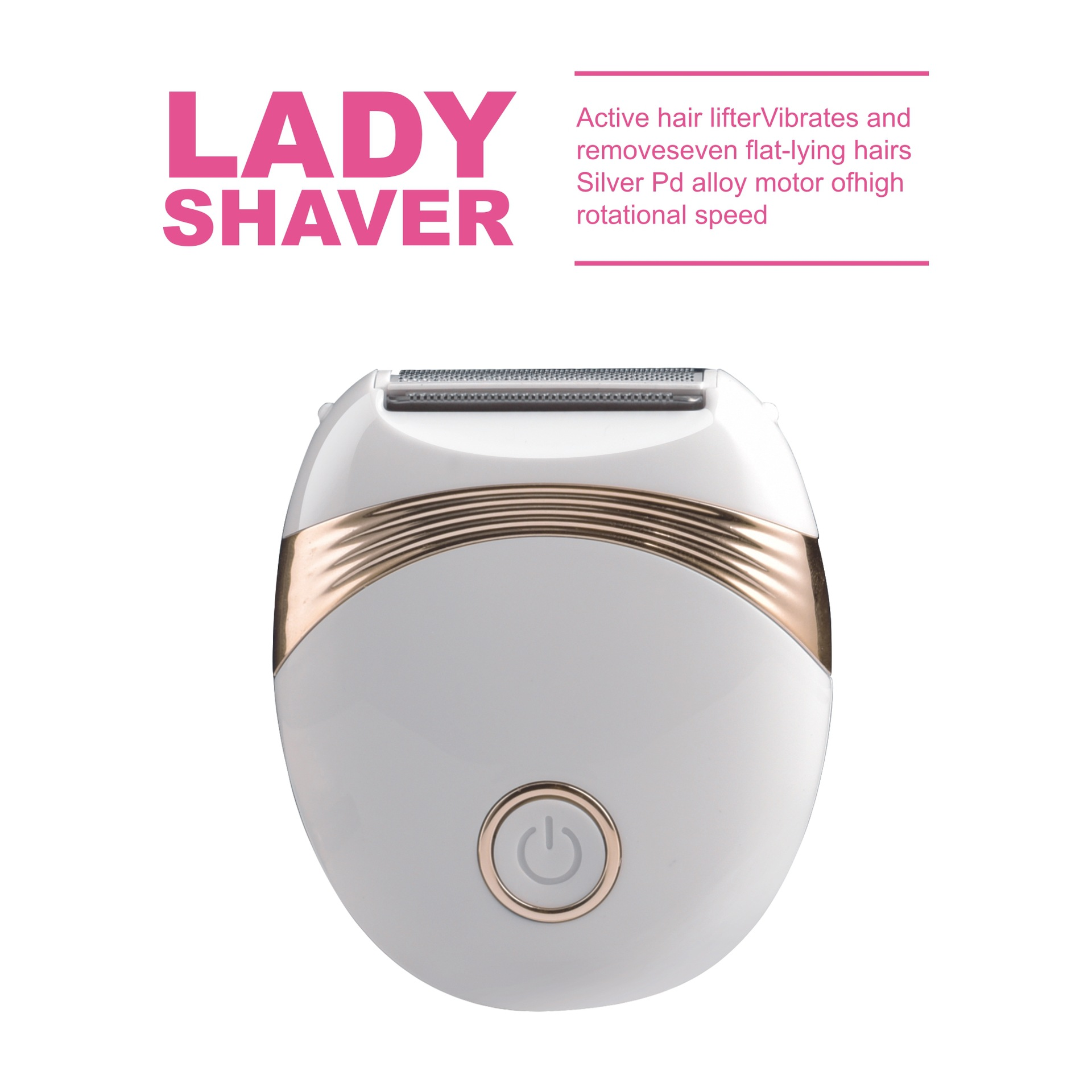 Lady Shaver Women Hair Remover for Legs and armpit
