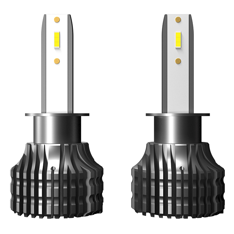 Factory direct selling car lamp R9 H1 12V led headlight bulbs for auto head lights
