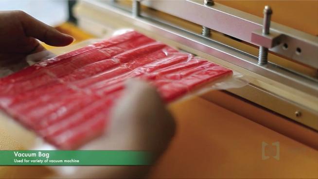 Fabrik Preis Großhandel Vakuum Versiegelung Lebensmittel Grade Lagerung Rolle Tasche Vakuum Tasche Kunststoff Verbund Verpackung Taschen Lebensmittel Vakuum Tasche