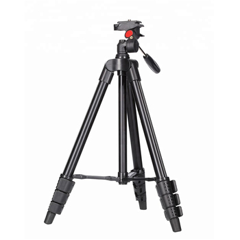 Sunrise Aluminium Universal Extendable Foldable Portable Travel Compact Tripod for Smartphone Video DSLR Camera Phone Stand