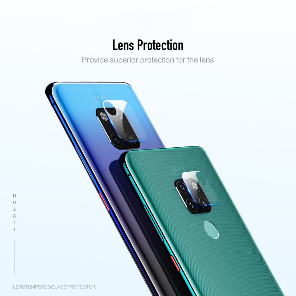 Rock Camera Lens Protective Protector For Huawei Mate 20 Mate 20 Pro 2pcs Pack Lens Tempered Glass Film