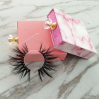 wholesale 25mm bulk wholesale 3d faux mink lashes false private label 5d 3d real Mink eyelashes vendor