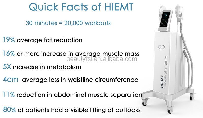 EMT8-2S tesla sculpt hi-emt slim beauty muscle build body sculpting emslim teslasculpt machine