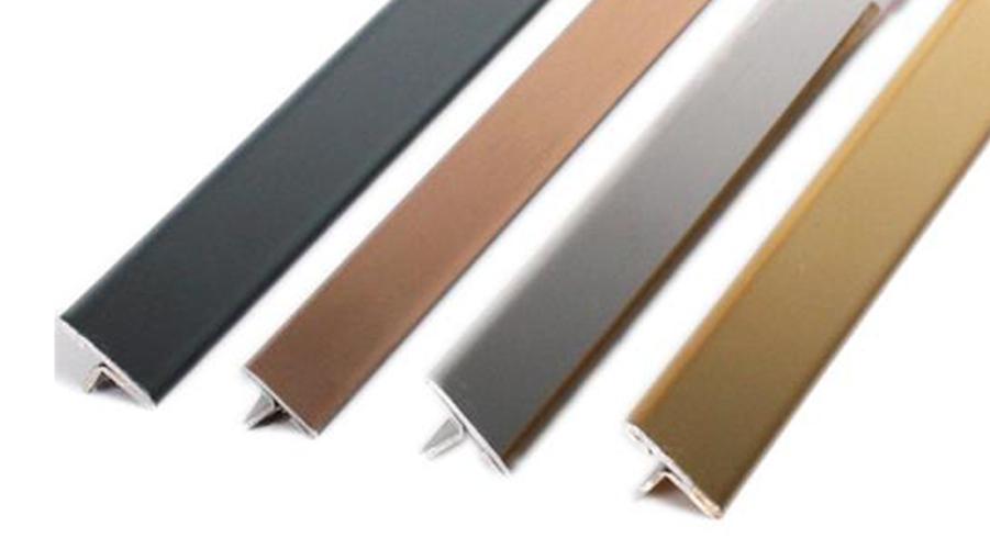 धातु टी मोल्डिंग बढ़त बैंडिंग एल्यूमीनियम टी आकार पट्टी टी-आकार बढ़त ट्रिम