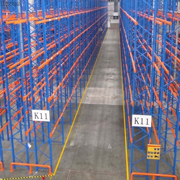 High Quality Industrial Pallet Racking System Double Deep Pallet Stacking Racks