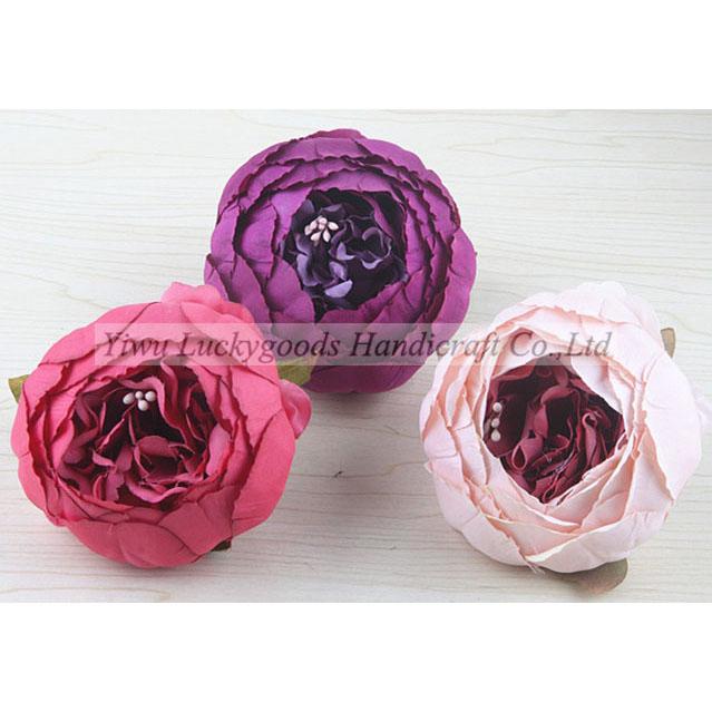 LFH-P023 Artificial Peony Silk Flower For Wedding Home Decor