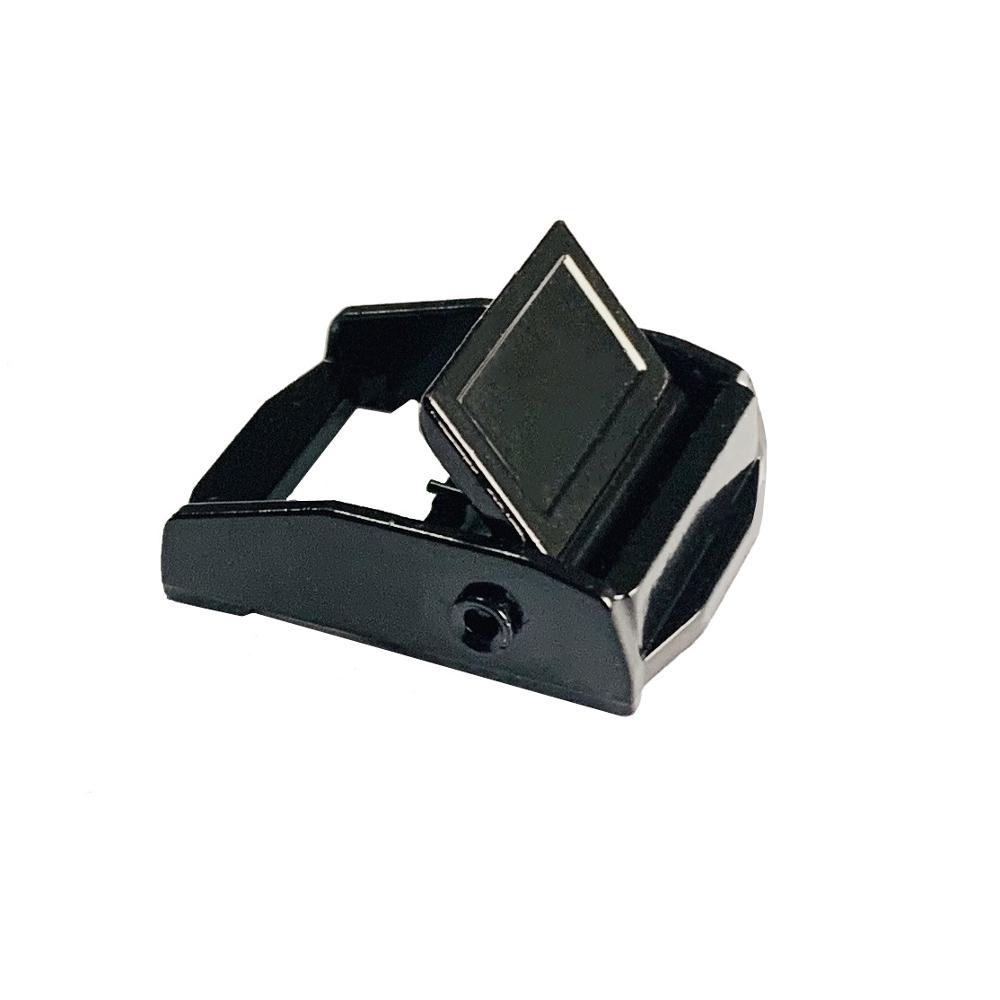 38mm Metal Cam Lever Buckle For Webbing 500kg Webbing,Straps,Clasps Black