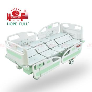 HOPEFULL 5 functions ICU room use automatic electric multifunction tilting hospital bed