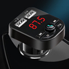 Bluetooth FM Transmitter Dual USB Car Phone Charger,dual usb port car charger
