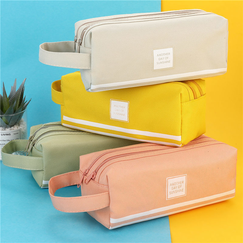 product-New arrival fashion Cute Pencil Case Marble Pattern Pen Bag Pencil Box Pencil Case Stationer