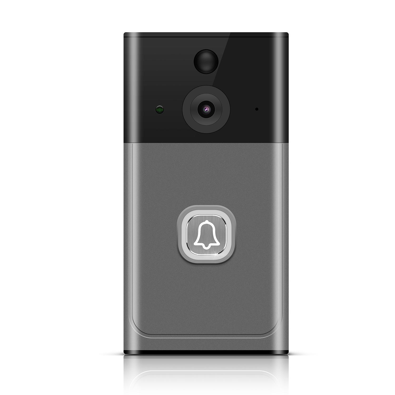 Su geçirmez PIR algılama kablosuz akıllı wifi video kapı zili kamera