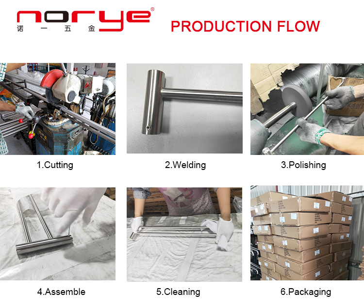 Norye hot selling glass bathroom shelf factory direct supply for hotel-8