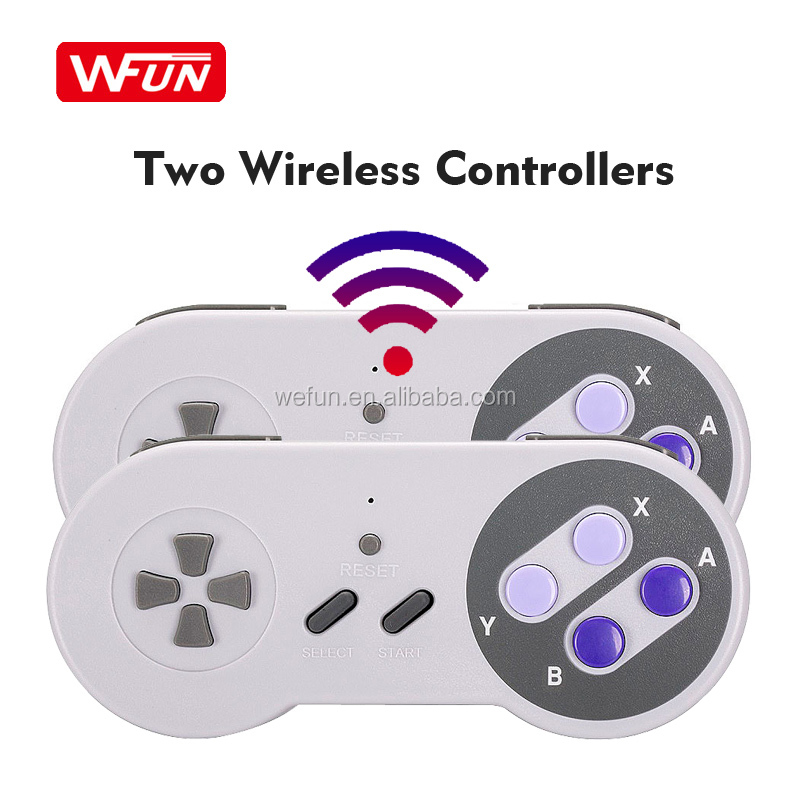 Factory Mini HD TV Video Classic Edition 8 Bit Game Retro 333 Games Consoles For SNES Nintendo With Wireless Controllers
