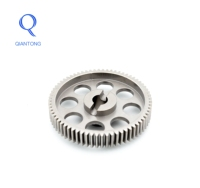QIANTONG China Custom Made Machining Cast Iron Industrial Chain Helical Iron Gear