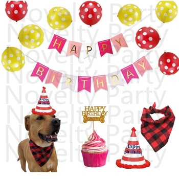 Pet Birthday Decorations Dog