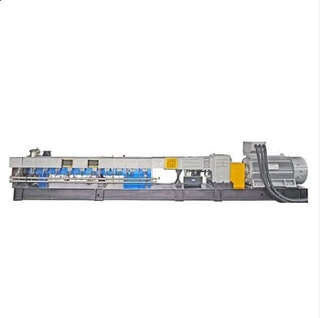 Space-saving Co-rotating Twin Screw PLA Sheet Extrusion Production Line For Disposable Plastic Products