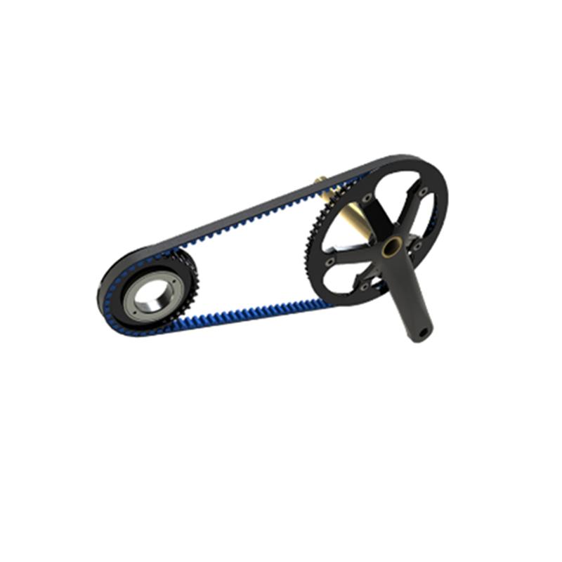 Изготовленный на заказ CNC подвергая механической обработке алюминиевые Запчасти для велосипедов