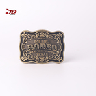 High Quality Western Cowboy Belt Buckle Zinc Alloy Beautiful Belt Buckle