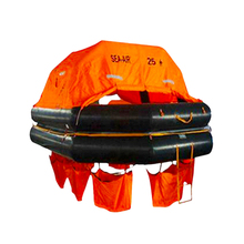 SOLAS EC CCS โยน over BOARD Inflatable Self-12/15/16/20/25 คน marine Life raft