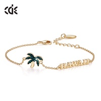 Famous Brand Jewelry Coconut Tree Woman Bracelets Jewellery