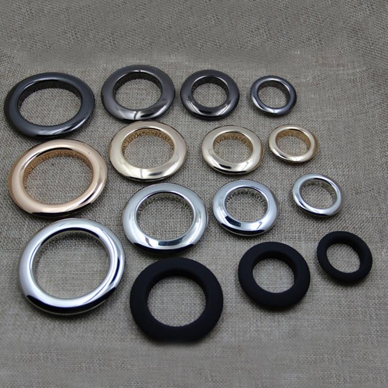 23mm forma redonda calidad brillante anilla de metal para bolsas