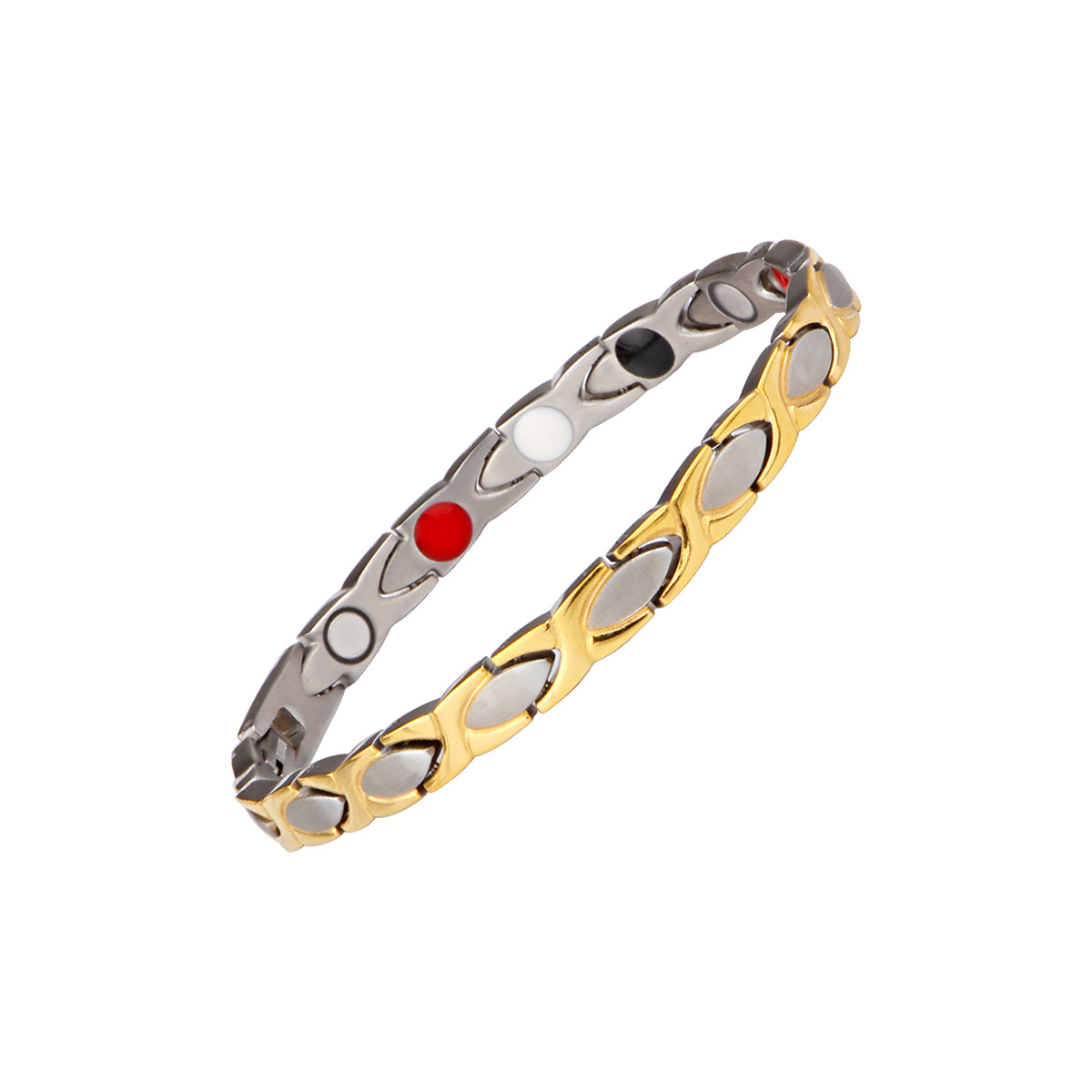 Magnetic Therapy 316L Stainless Steel Full Magnets Or 4 In 1 Magnetic Bracelet