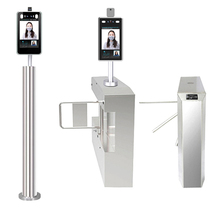 Medium Enterprises Facial Biometric Access turnstile Gate ประตูระบบ Biometric อุปกรณ์ Face Recognition