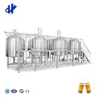 for Hotels Brewery Equipment Prices Mini Beer Brewing System Commercial Mash Tun Brew Kettle Turnkey Project