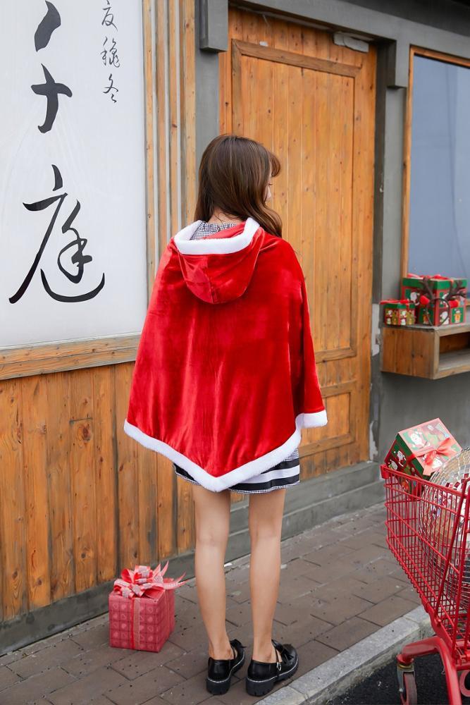 Новые Лидер продаж взрослых Мода полиэстер шаль одноцветное лоскутное Hairball шить Рождество костюмы комплект из двух предметов