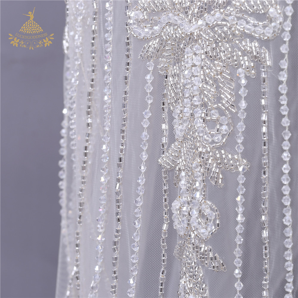 Rhinestone Wedding Large dress bead applique party wedding crystal patches
