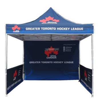 Custom Printed 10x10 Trade Show Outdoor Exhibition Portable Canopy Tent