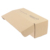 Tuck Top Foldable Paper Box in Corrugated Brown Kraft Paper Material For Clothes Mailing Boxes