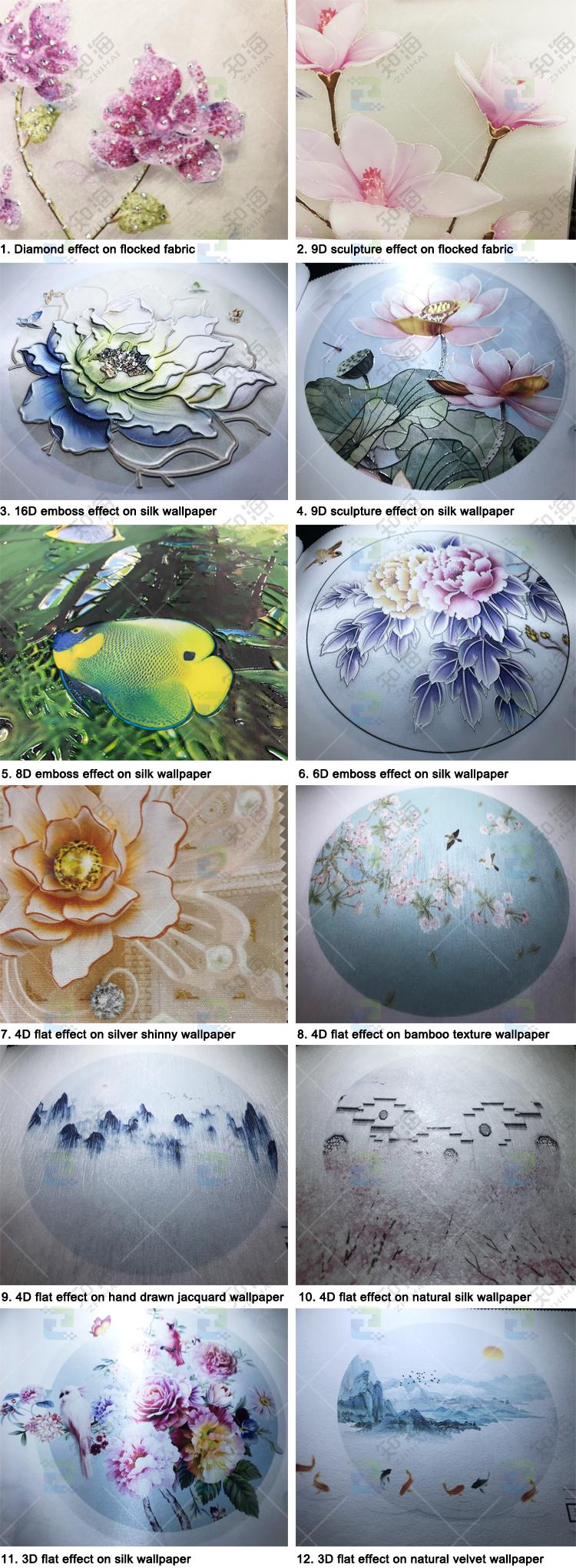 3d rose chaud perle tridimensionnel fleur bijoux mur de fond papier peint à paillettes